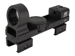 "NcStar Reflex Red Dot Sight Red and Green 5 MOA Dot with Interchangeable Weaver and 3/8"" Dovetail Mount Matte"