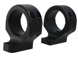 "DNZ Hunt Master 2-Piece Scope Mounts with Integral 1"" Rings Savage 10 Through 16, 110 Through 116 Round Rear, Axis Matte High"