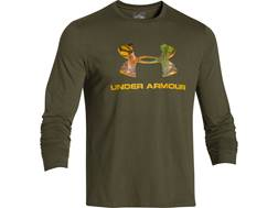 Under Armour Men's Camo Fill Logo Shirt Long Sleeve Polyester