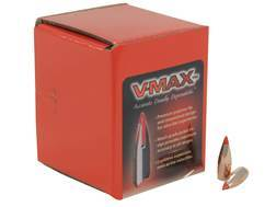 Hornady V-Max Bullets 243 Caliber, 6mm (243 Diameter) 58 Grain Boat Tail Box of 100