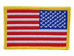BlackHawk American Flag Patch Full Color Reversed