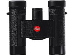 Leica Ultravid BL Compact Binocular 8x 20mm Roof Prism Black Leather with Special Edition Red Leather Case