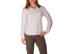 Mountain Khakis Women's Mystic Shirt Long Sleeve Polyester Orchid Plaid Large 39-40 1/2