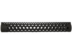 Troy Industries Alpha Battle Rail Modular Free Float Handguard LR-308 Black