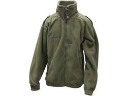 Military Surplus NATO Polar Fleece Jacket Polyester Olive Drab Green Large