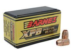 Barnes XPB Handgun Bullets 44 Caliber (429 Diameter) 200 Grain Solid Copper Hollow Point Lead-Free Box of 20