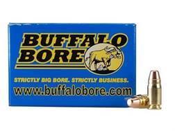 Buffalo Bore Ammunition 357 Sig 125 Grain Full Metal Jacket Box of 20