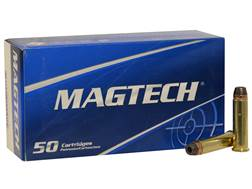 Magtech Sport Ammunition 357 Magnum 158 Grain Semi-Jacketed Hollow Point