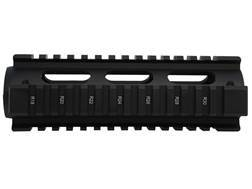 UTG Pro 2-Piece Handguard Quad Rail AR-15 Carbine Length with Rail Guards