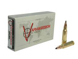 Nosler Varmageddon Ammunition 308 Winchester 110 Grain Tipped Flat Base Box of 20