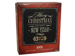 CCI Standard Velocity Holiday Pack Ammunition 22 Long Rifle 40 Grain Lead Round Nose Box of 300 (3 Boxes of 100)