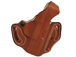 DeSantis Thumb Break Scabbard Belt Holster Right Hand FNH FNS Compact Leather