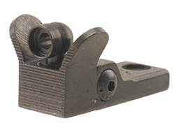 Brockman's Generation 3 Winged Adjustable Rear Peep Sight Marlin Steel Blue