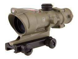 Trijicon ACOG TA31-D Rifle Scope 4x 32mm Dual-Illuminated Red Chevron 223 Remington Reticle with TA51 Flattop Mount Cerakote Flat Dark Earth
