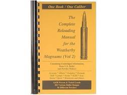 "Loadbooks USA ""Weatherby Magnums Volume 2"" Reloading Manual Calibers 300 to 460"