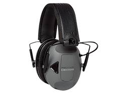 Peltor RangeGuard Electronic Earmuffs (NRR 21dB) Black and Gray