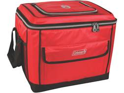 Coleman Active Family 40 Can Collapsible Cooler Red