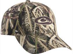 Drake Logo Cap Cotton Mossy Oak Shadow Grass Blades Camo