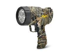 Cyclops Duck Commander Handheld Spotlight LED with Rechargeable Battery Polymer Realtree Max-4 Camo