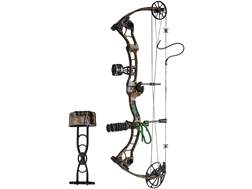 """Martin Afflictor Compound Bow Package Right Hand 60-70 lb 26""""-32"""" Draw Length Mossy Oak Infinity Camo"""
