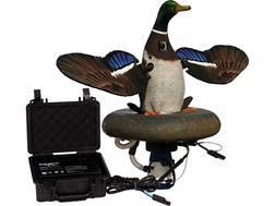 Higdon Splashing-Flasher 2 12 Volt Mallard Drake Motion Duck Decoy Polymer
