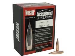 Nosler AccuBond Long Range Bullets 284 Caliber, 7mm (284 Diameter) 150 Grain Bonded Spitzer Boat Tail Box of 100