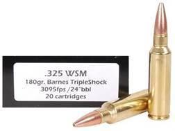 Doubletap Ammunition 325 Winchester Short Magnum (WSM) 180 Grain Barnes Triple-Shock X Bullet Box of 20
