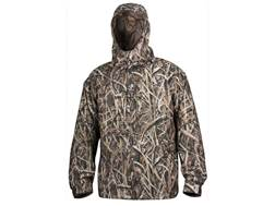 Drake Men's EST Heat-Escape Full Zip Waterproof Jacket Polyester Mossy Oak Shadow Grass Blades Ca...
