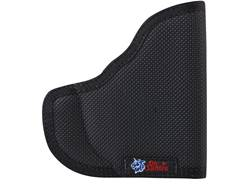 DeSantis Nemesis Pocket Holster Ambidextrous Beretta Nano, Smith & Wesson M&P Shield with Crimson Trace LG489 Nylon Black