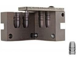 Saeco 2-Cavity Bullet Mold #433 44 Special, 44 Remington Magnum (430 Diameter) 300 Grain Flat Nose Gas Check