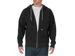 Dickies Lightweight Fleece Full Zip Hoodie Cotton Polyester Blend