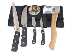 Knives of Alaska Super Pro-Pack 5 Piece Set with Hatchet and Wood Saw