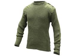 Military Surplus British Commando Sweater Grade 2 XL Olive Drab
