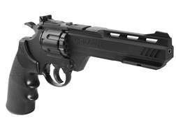 Crosman Vigilante 357 Air Pistol 177 Caliber BB and Pellet Black Polymer Grips Blue Barrel