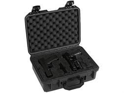 "Pelican Storm 4-Gun M9, 1911, or M11 iM2200 Gun Case 15"" x 10 1/2"" x 6"" Polymer Black"