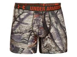 "Under Armour Men's 6"" Camo Boxerjock Underwear Synthetic Blend"