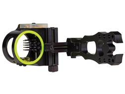 "Black Gold Pure Energy 75 Micro Adjust 5-Pin Bow Sight .019"" Diameter Pins Right Hand Black"