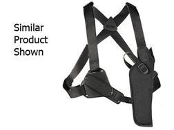 "Uncle Mike's Sidekick Vertical Shoulder Holster Right Hand Large Frame Semi-Automatic 3-.75 to 4.5"" Barrel Nylon Black"