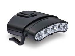 Cyclops Orion Tilt Cap Clip Light LED with 2 CR2032 Batteries Polymer