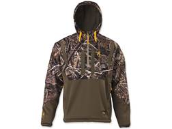 Browning Men's Dirty Bird Timber Soft Shell 1/4 Zip Hoodie Realtree Max-5 Camo XL