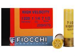 "Fiocchi Shooting Dynamics High Velocity Ammunition 20 Gauge 3"" 1-1/4 oz #7-1/2 Shot Box of 25"