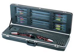 "SKB 3712 Compact Recurve Bow Case 36"" Polymer Black"