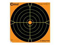 "Caldwell Orange Peel Targets 12"" Self-Adhesive Bullseye Package of 10"