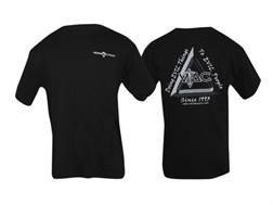"VTAC ""Doing Evil Things"" Short Sleeve T-Shirt Large Cotton Black"