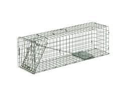 Duke #2 Single Door Cage Trap Steel Silver