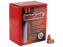 Hornady InterLock Bullets 44 Caliber (430 Diameter) 265 Grain Flat Nose Box of 100