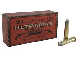 Ultramax Cowboy Action Ammunition 45-70 Government 405 Grain Lead Flat Nose Box of 20