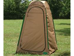 Texsport Privacy Shelter Hilo Hut II Polyurethane Tan and Hunter Green