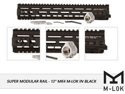 Geissele Super Modular Rail MK4 M-Lok Free Float Handguard with Low Profile Gas Block AR-15 Aluminum
