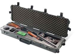"Pelican Storm iM3300SGN Shotgun Case with Molded Insert and Wheels 53"" Polymer Olive Drab"